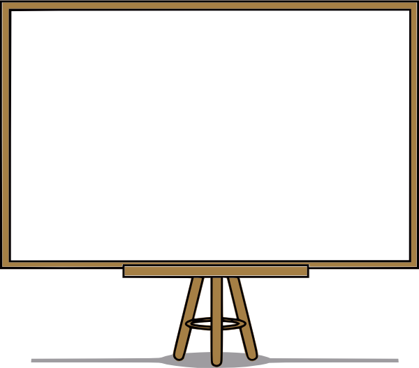 White Board Clip Art at Clker.com.