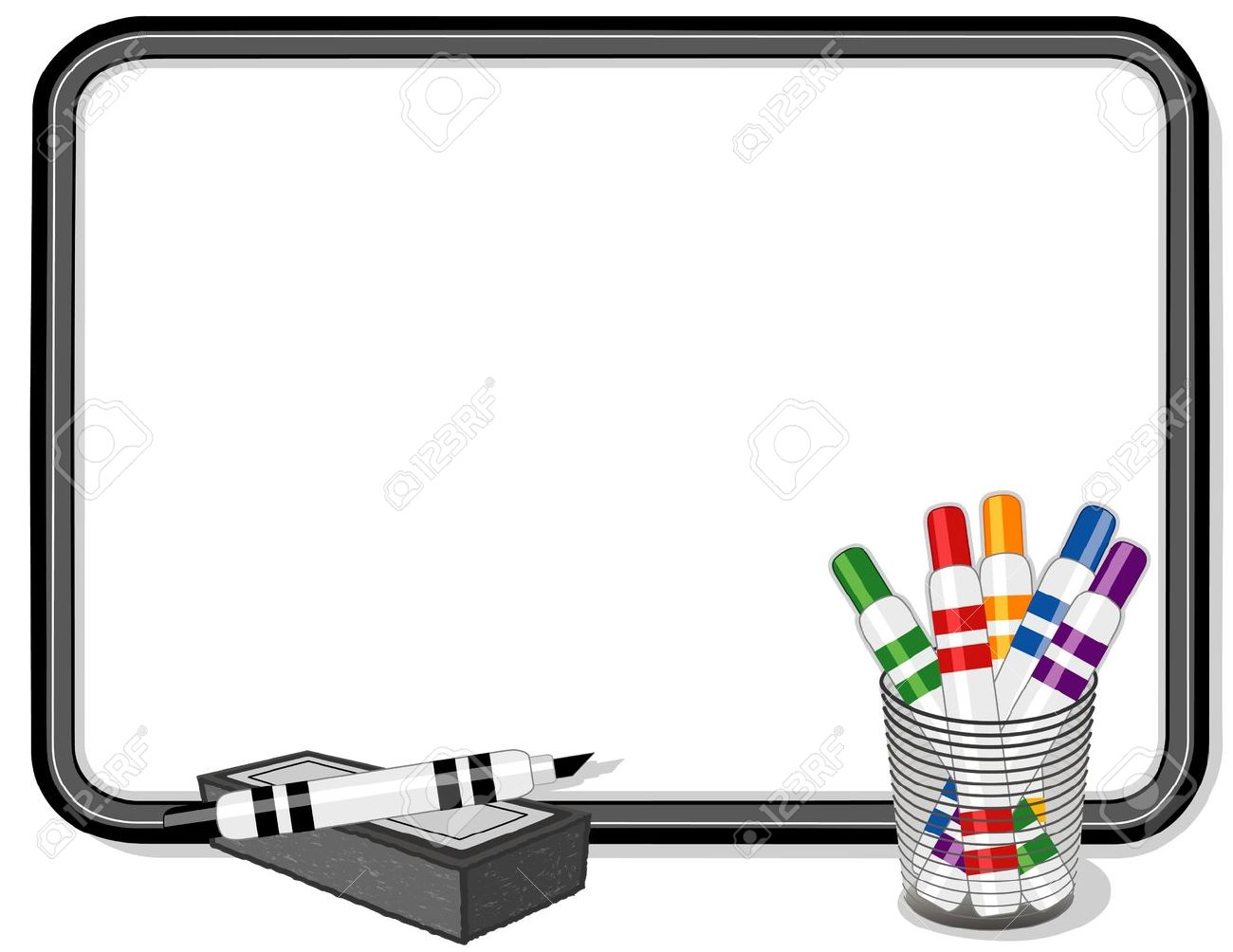 whiteboard clipart