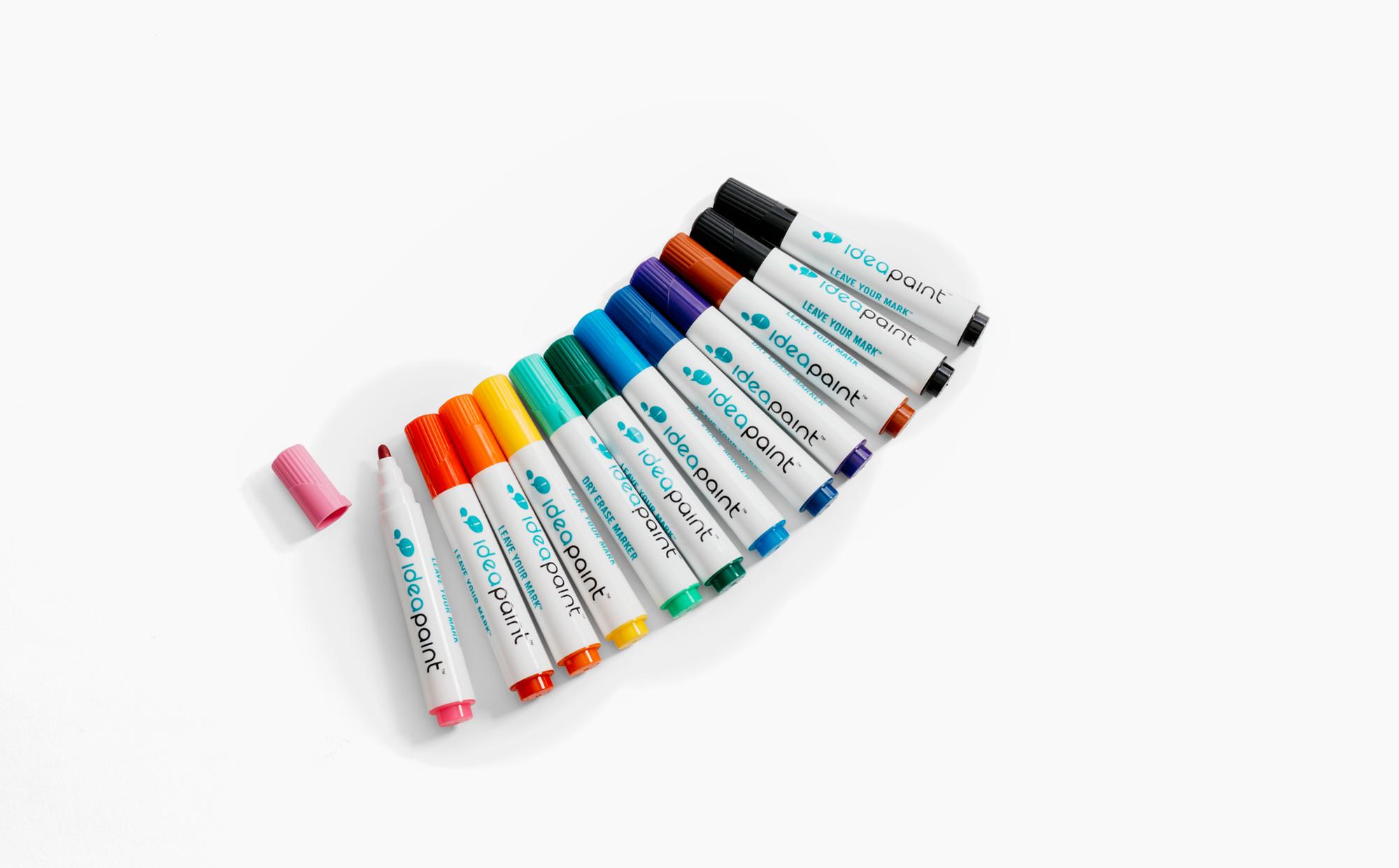 Bullet Tip Dry Erase Markers.