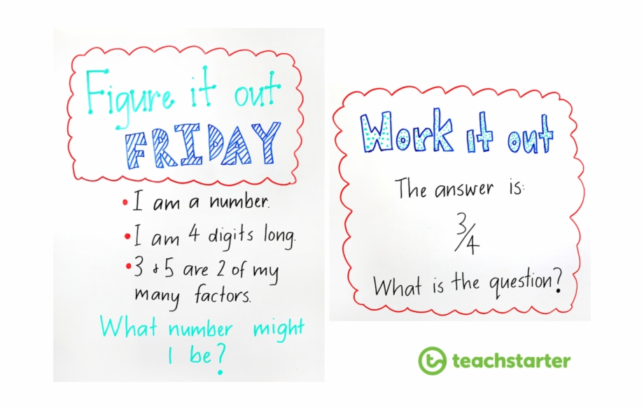Whiteboard Maths Warm.