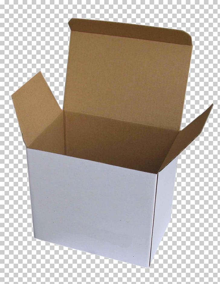 Paper Cardboard box Corrugated fiberboard Carton, WHITE BOX.
