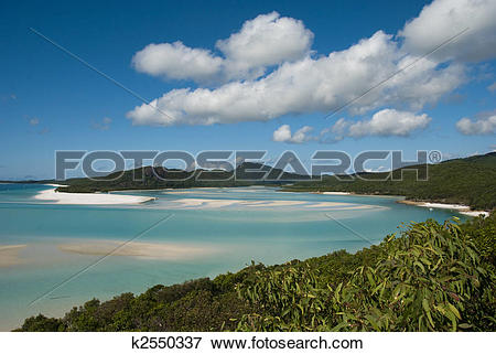 Picture of Whitehaven Beach, Queensland, Australia, August 2009.