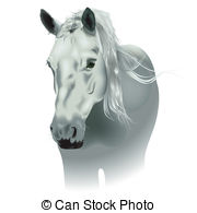 Whitehorse Vector Clipart Royalty Free. 16 Whitehorse clip art.