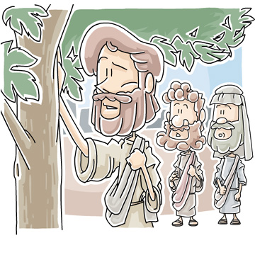 Christian clipArts.net _ The fig tree with no fruit.