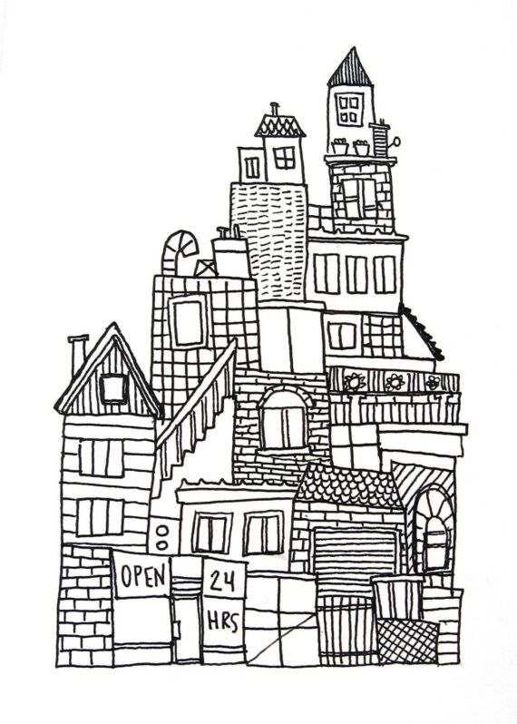 78 Best ideas about Black And White Drawing on Pinterest.
