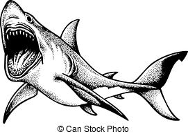 Shark Illustrations and Clipart. 7,940 Shark royalty free.