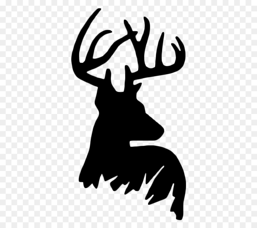 Free Whitetail Deer Silhouette Clip Art, Download Free Clip.