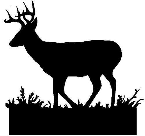 whitetail deer silhouette clip art.