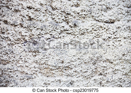 Picture of Whitewashed wall with rich and various texture.