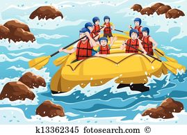 Whitewater Clipart Vector Graphics. 37 whitewater EPS clip art.