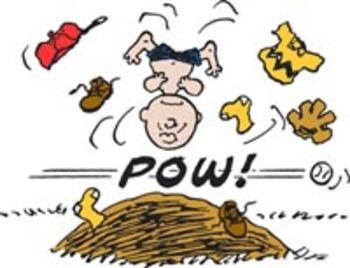 Charlie Brown Baseball Clipart.