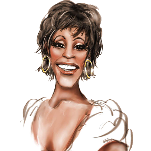 Free Whitney Houston Clip Art.