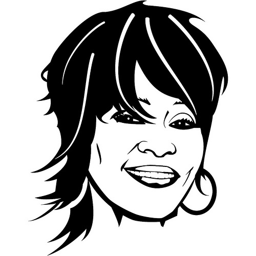 Gallery For > Whitney Houston Clipart.