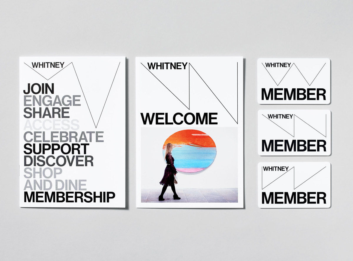 A New Graphic Identity for the Whitney.