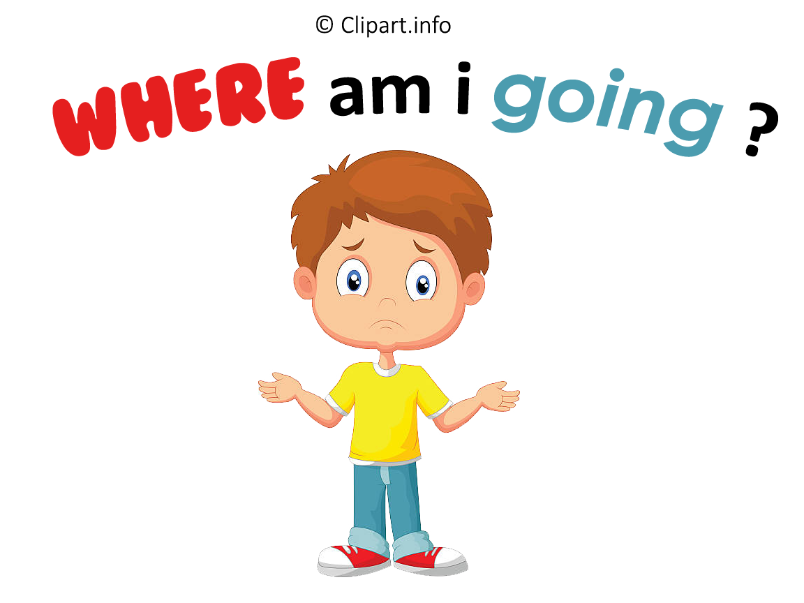 Where Am I Going Clipart Png Transparent.