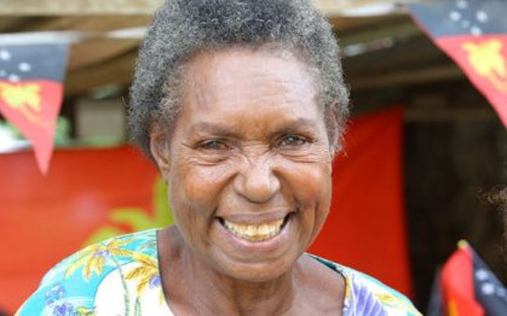 Tribute for woman who designed PNG flag.