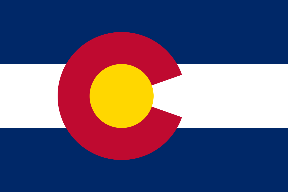Flag of Colorado.