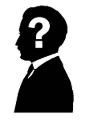 Who Is He Clipart.