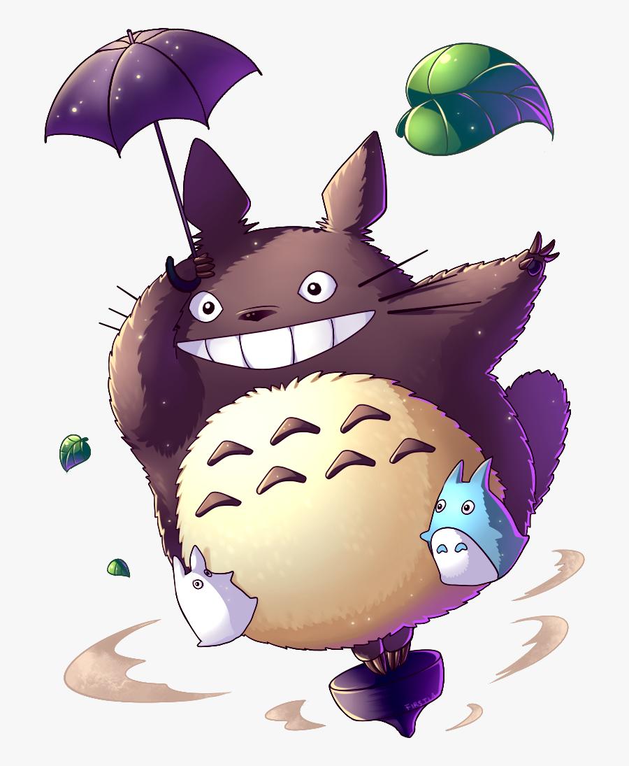My Neighbor Totoro Art , Free Transparent Clipart.