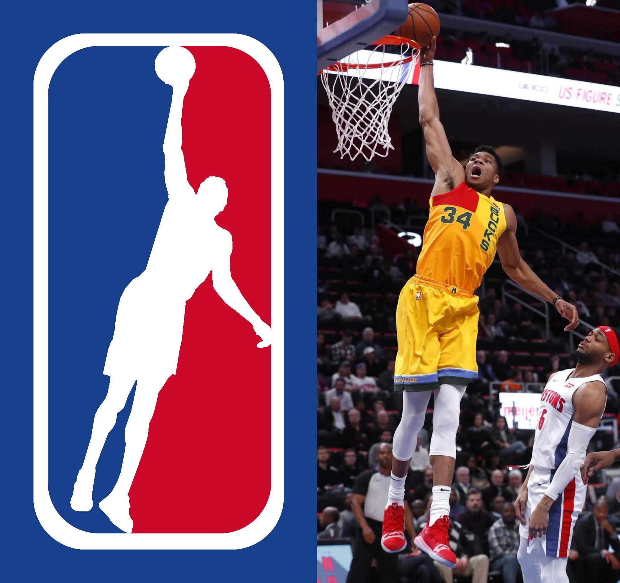 Proposal for new NBA Logo : MkeBucks.