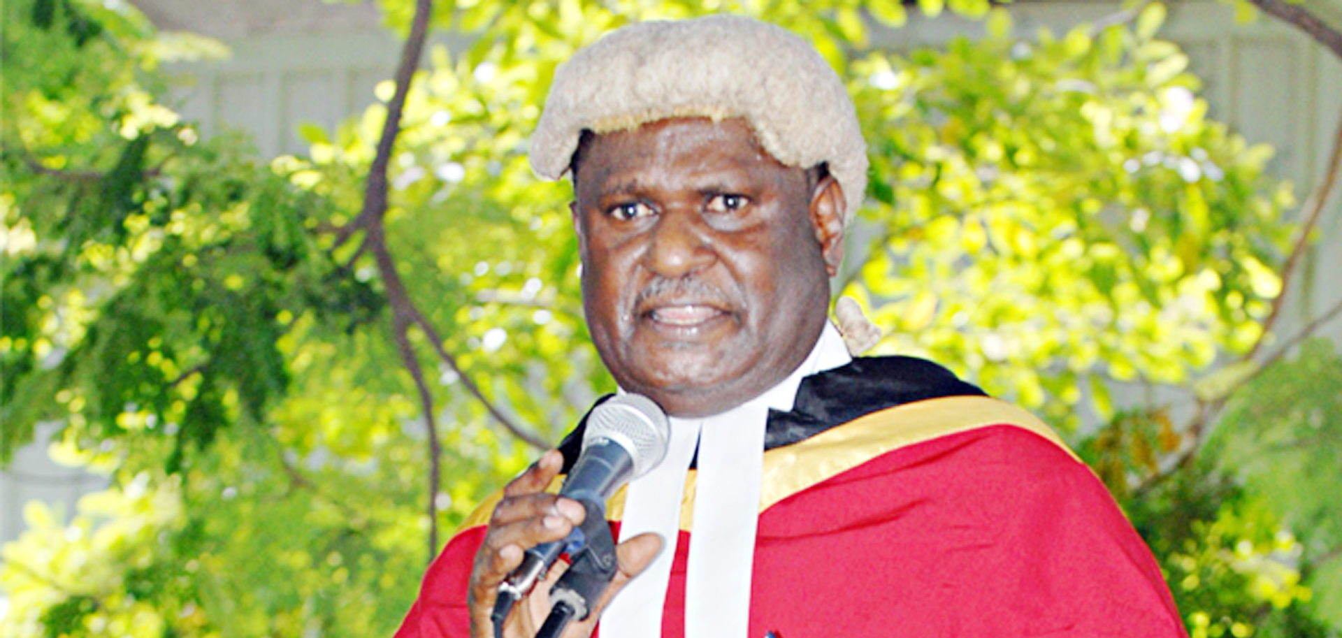 Sir Gibbs Salika is new PNG Chief Justice.