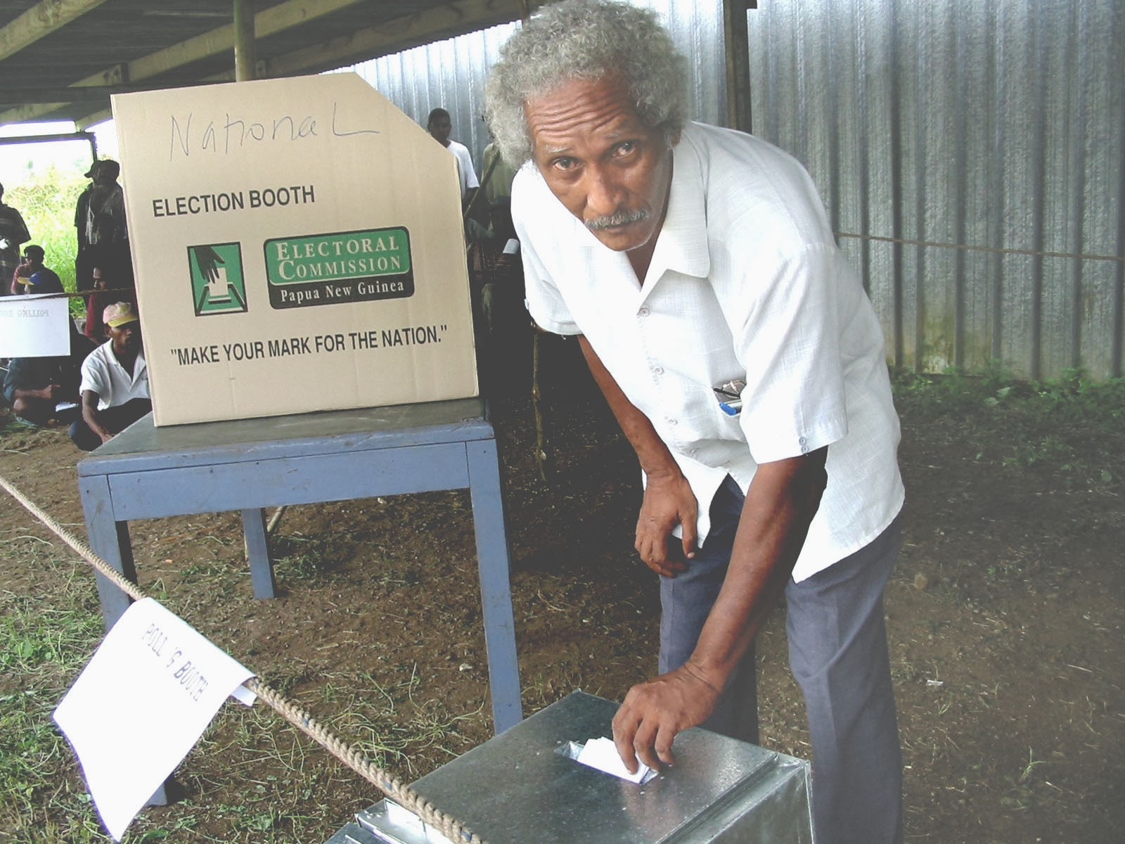 Yumi Stori: New voting system for PNG.
