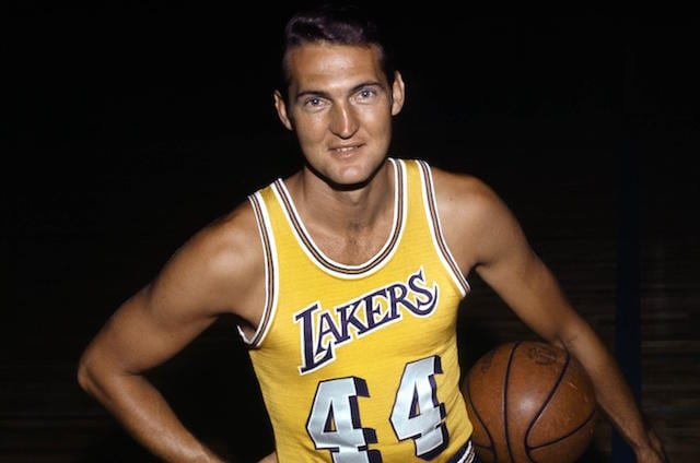 Jerry West and the story behind the NBA logo.