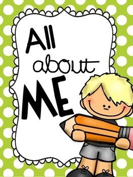 All about me clipart 4 » Clipart Station.
