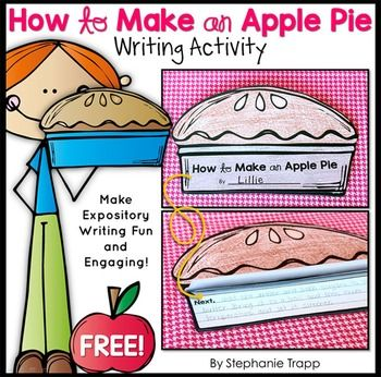 How to Writing Craftivity: How to Make an Apple Pie.