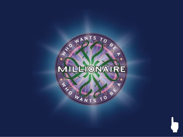 Who wants to be a millionaire power point.