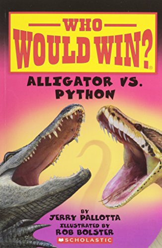 Who Would Win? Alligator vs. Python.