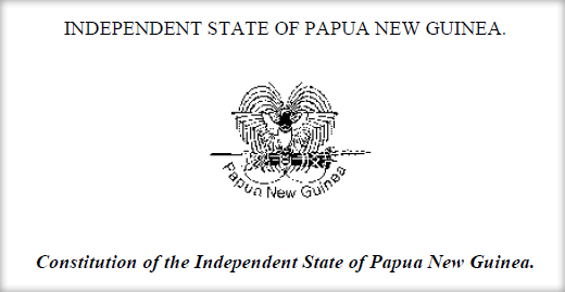 Constitution of the Independent State of Papua New Guinea.