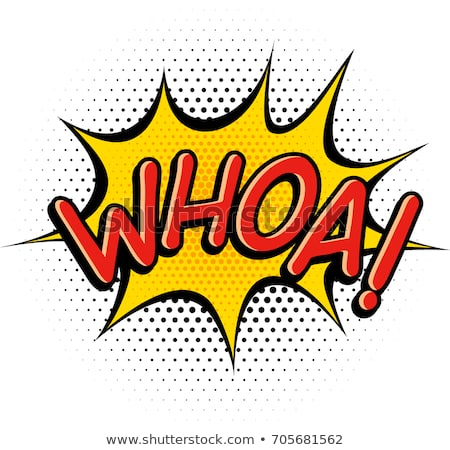 Comic Book Whoa Effect Stock Vector (Royalty Free) 705681562.