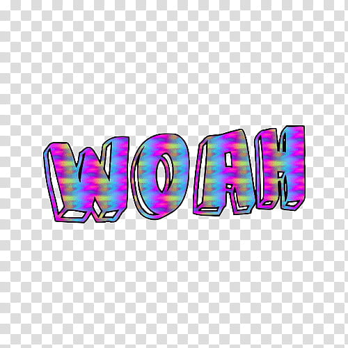 Text s, purple woah text transparent background PNG clipart.
