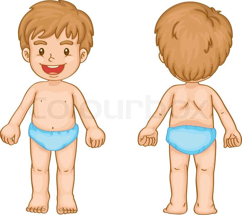 Whole Body Clipart.