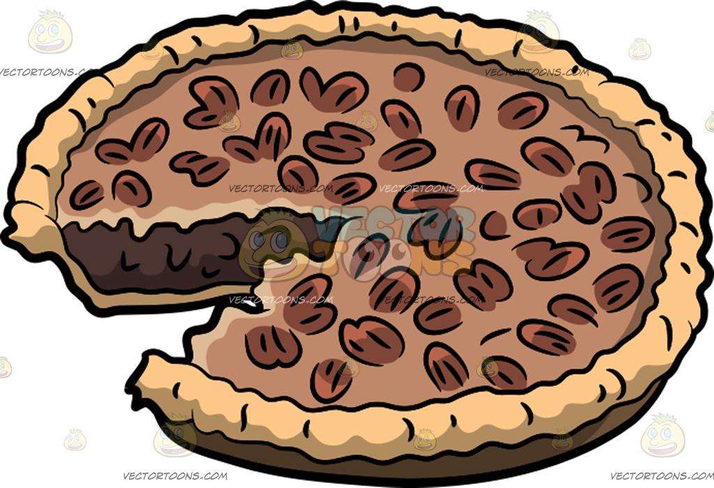 Chocolate Pie Clipart.