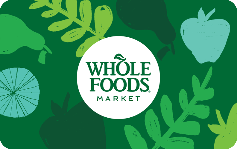 Whole Foods Market® Gift Card.