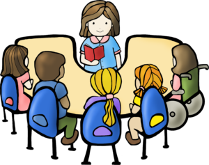 Reading Group Clipart.