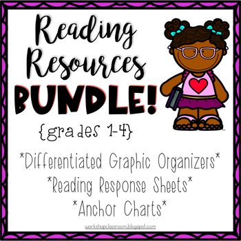 Teaching Fiction Reading Resources Bundle, Whole Group & Small Group  Instruction.
