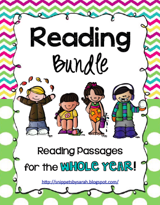 Reading Passages and Comprehension Activities for the WHOLE.