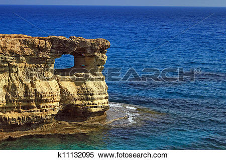 Stock Image of Hole in the rock k11132095.