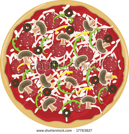Whole Pizza Stock Vectors, Images & Vector Art.