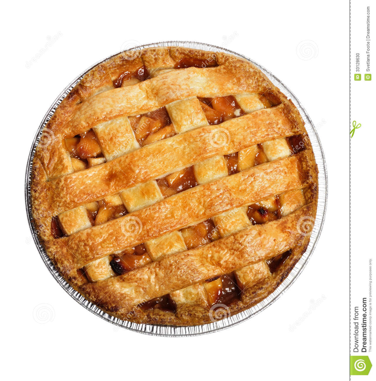 Top View Whole Pie Clipart.