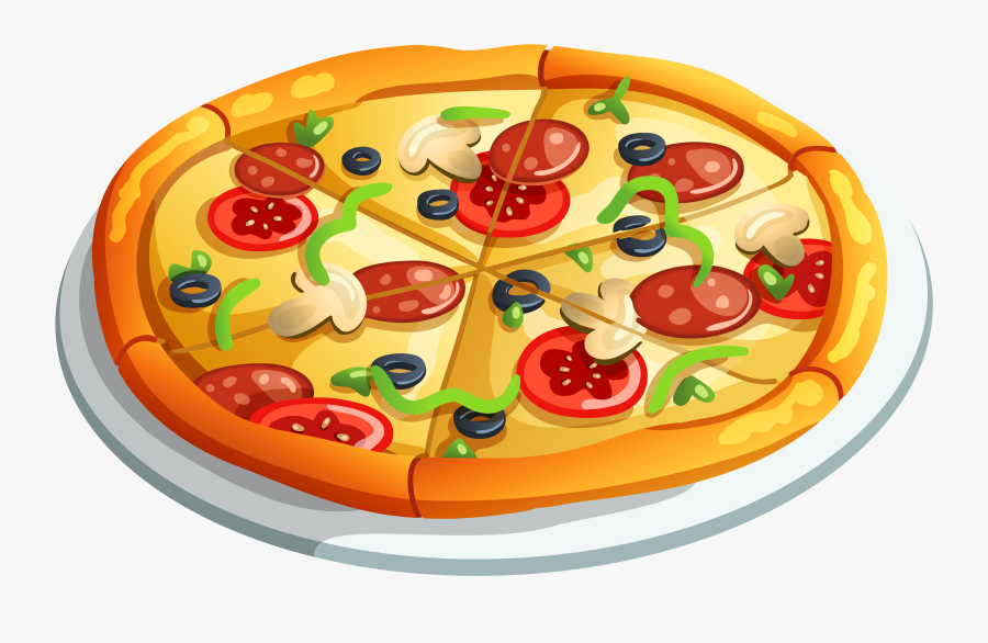 Pizza Clipart Whole.