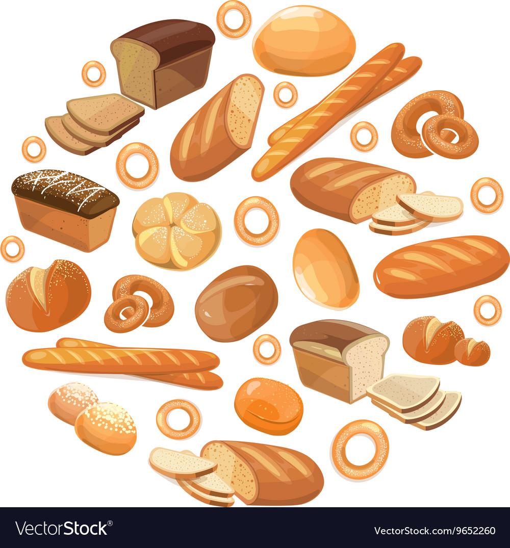 Food bread rye wheat whole grain bagel sliced.