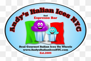 Andy\'s Italian Ices Nyc & Ice Cream Wholesaler Clipart.