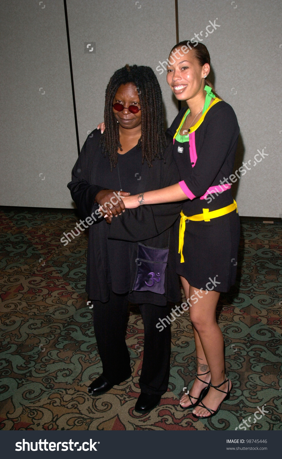 Actress Whoopi Goldberg Daughter Alex 25th Stock Photo 98745446.