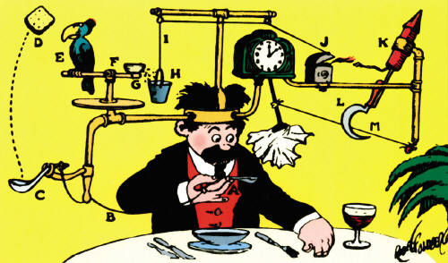 Rube Goldberg Clipart.