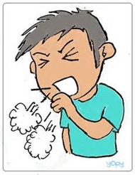 Whooping Cough Clipart.