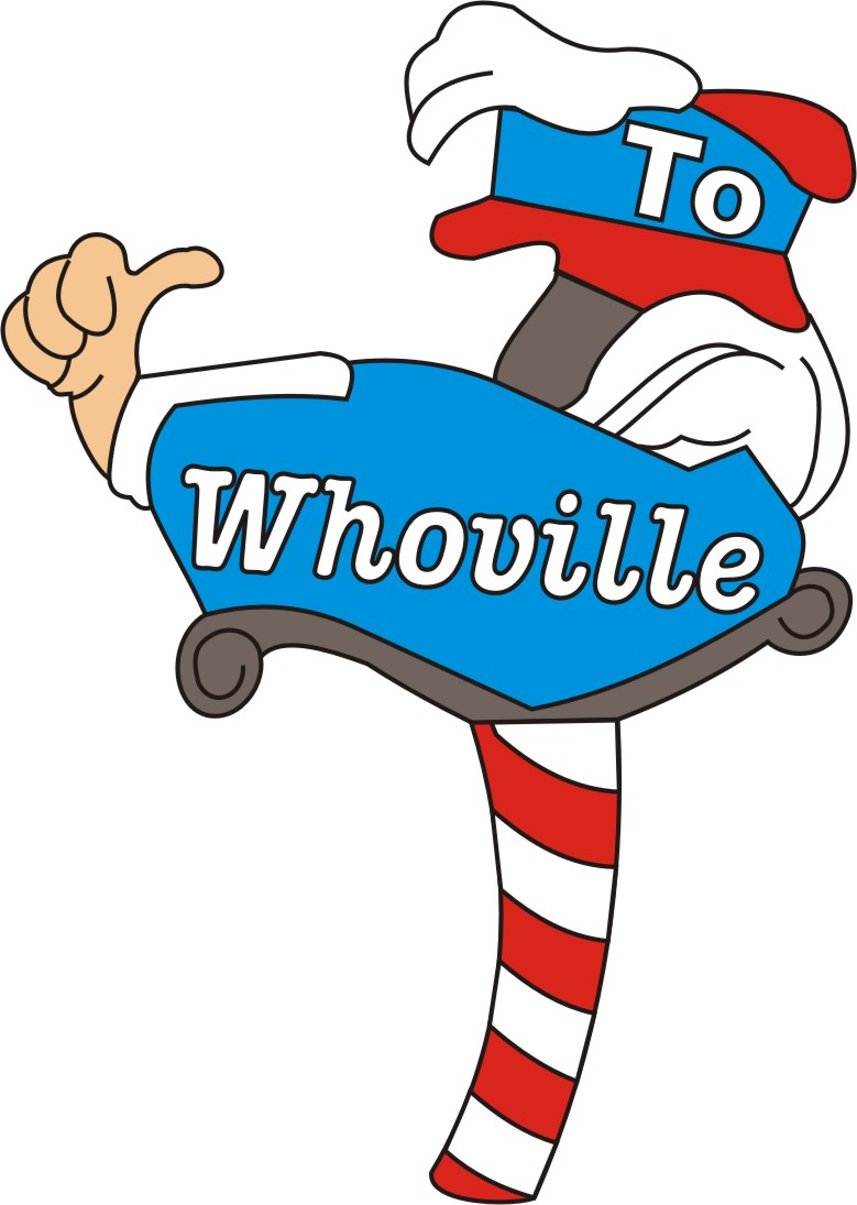 Collection of Whoville clipart.